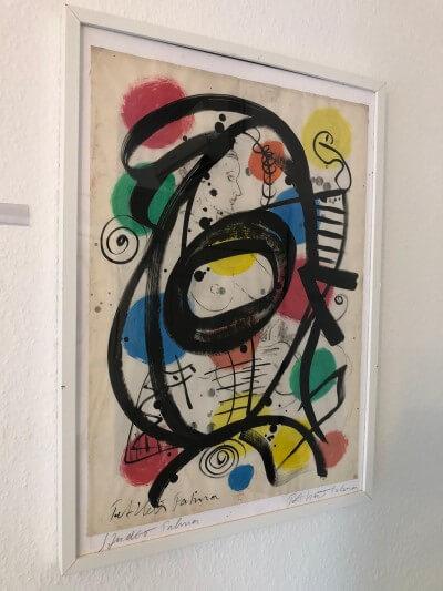 Gemälde Peter Keil Weiß