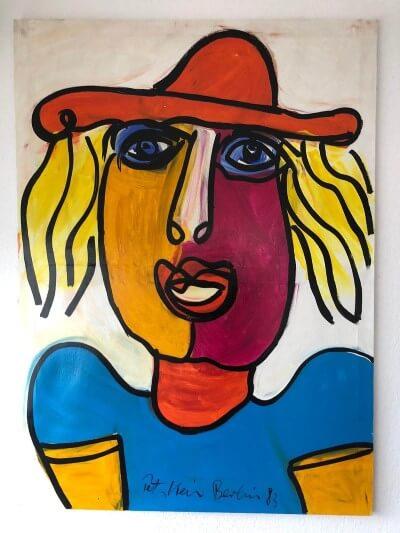 Gemälde Peter Keil Portrait